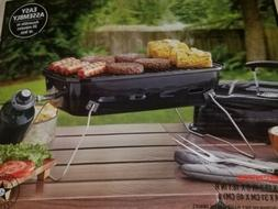 New EXPERT GRILL  Portable Table Top Travel Cooking BBQ,outd