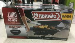 NEW, COLEMAN ROADTRIP PORTABLE GRILL 225 SQ. IN. STANDUP PRO