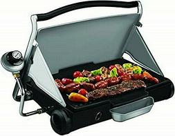 NIB- George Foreman Camp and Tailgate Portable Propane Grill