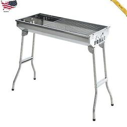 OUTDOOR PARTY CAMPING 35 Stainless Steel Portable Folding Ch