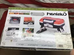 Cuisinart Petit Gourmet Portable Gas Grill Cgg-180t New In B