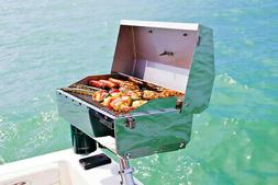 Portable Boat Gas Grill BBQ + Mount Accessories Marine Sailb