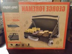 Portable camp and tailgate, camping and picnic grill by GEOR
