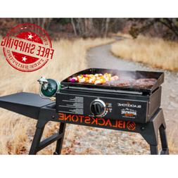Portable Outdoor Propane Gas Griddle Grill Tabletop Camping