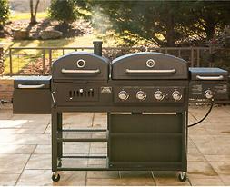 Smoke Hollow Pro Series 4-in-1 Gas and Charcoal Combo Grill