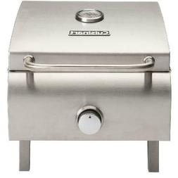 Portable Gas BBQ Grill Stainless Steel Tailgating Camping Be