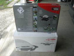 WEBER Q200 PORTABLE GAS GRILL 15910 w/ROLLING CART 6549-NOS-