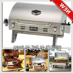 Stainless Steel Propane Gas Grill Portable Table Top BBQ Bar