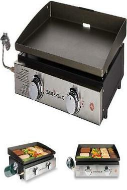 Tabletop Grill  22 Inch Portable Gas Griddle - Propane Fuele