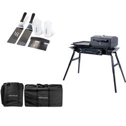 Blackstone Tailgater Portable Gas Grill and Griddle Combo Wi